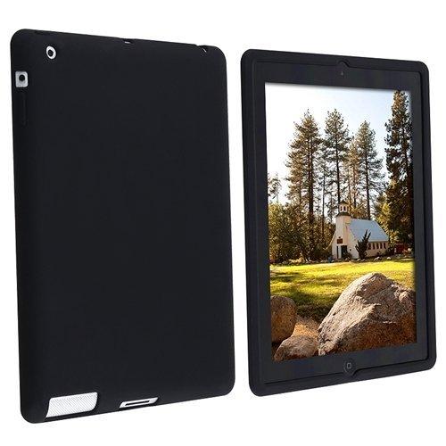 SODIAL(R) Silikon Case Fuer Apple iPad 2/ iPad mit Retina Display/ iPad 4