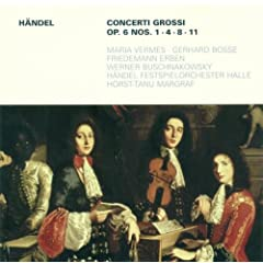 Concerto Grosso in G major, Op. 6, No. 1, HWV 319: V. Allegro