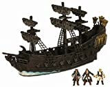 Pirates of the Caribbean 3 - Pirate Fleet Micro Ship - Black Pearl with Jack, Will and Gibbs
