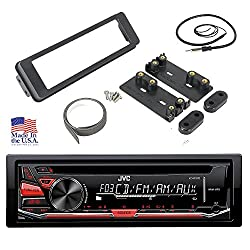 1998-2013 HARLEY DAVIDSON TOURING INSTALL ADAPTER FLHT JVC CD STEREO RADIO FLHTC CD DASH KIT FLHX