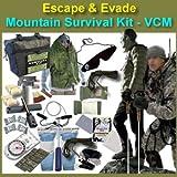 Escape & Evade Mountain Survival Kit - Tactical / Military (VCM)