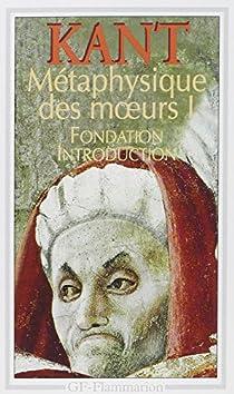 Métaphysique des moeurs par Kant