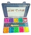 Loom Bandz Bracelet Kit & Clips with...