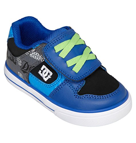 Dc Pure V Sneaker (Toddler),Blue,7 M Us Toddler front-1018404
