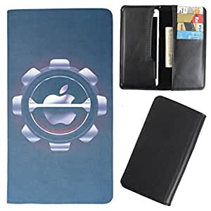 DooDa - For Alcatel Idol X PU Leather Designer Fashionable Fancy Case Cover Pouch With Card & Cash Slots & Smooth Inner Velvet