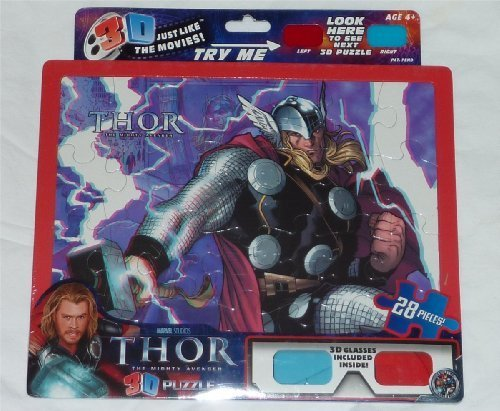 Thor The Mighty Avenger 3D Puzzle.