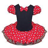 EFE Souris de Minnie D�guisement Robe + Serr�-t�te Costume de Soir�e B�b� Tutu Partie Petite Fille (3-4 ans)