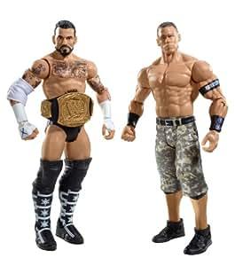 Amazon.com: WWE CM Punk and John Cena Figure 2-Pack Series 17: Toys