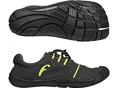 Freet 4+1 Leap Barefoot Mens Ladies Running Trail Shoes Trainers Grey
