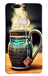 Omnam Desinger Kettle Printed Back Cover Case For Huawei Honor V8