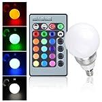 E14 3W Ampoule 320LM LED av/ 16 coule...