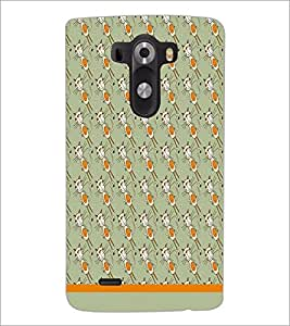 PrintDhaba Pattern D-1605 Back Case Cover for LG G3 (Multi-Coloured)