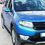 Trittbretter für Dacia Sandero Stepway ab Bj 09 mit TÜV/ABE Bescheinigung (aus Aluminium) | Sidestep Seitenschweller Trittleisten