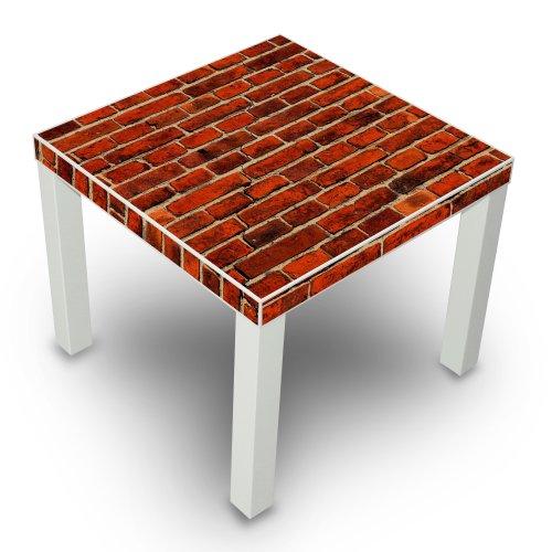 mesa-auxiliar-de-colour-blanco-con-diseno-de-para-colgar-de-la-pared-de-ladrillo