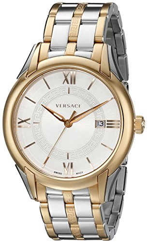 "Versace Men's VFI050013 ""Apollo"" Rose Gold Ion-Plated and Stainless Steel Casual Watch image"