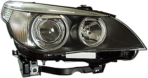 HELLA 160698001 BMW 5 Series E60 Passenger Side Headlight Assembly (2004 Bmw 525i Headlights Assembly compare prices)