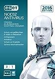Software - ESET NOD32 AntiVirus 2016 - 3 Computer (Frustfreie Verpackung)