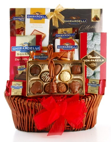 Image of Grand Ghirardelli Chocolate Gift Basket