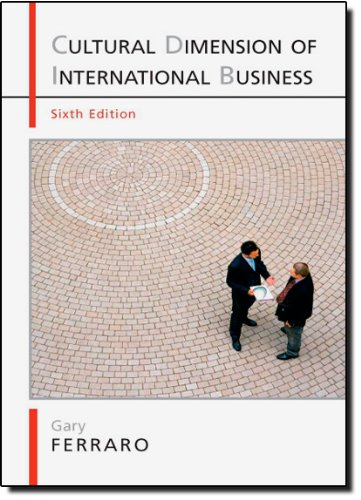 The Cultural Dimension of International  Business, 6th...