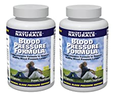 buy Blood Pressure Support / All Natural Blood Pressure Supplement (2 Bottles/240 Capsules/120 Day Supply)