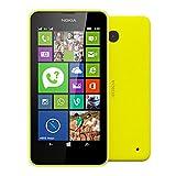 Nokia Lumia 630 Dual SIM (simフリー, 8GB, Yellow 並行輸入品)