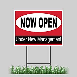 Open sign led open sign for business double sided outdoor led open