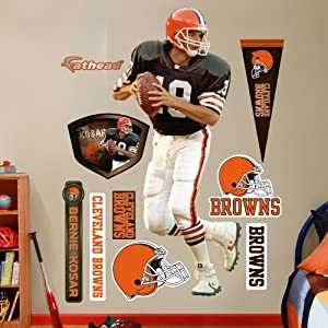NFL Cleveland Browns Bernie Kosar Wall Graphics by Fathead