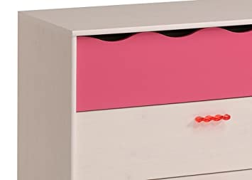 jumbo m bel sk kommde lilou in kiefer wei und pink us416. Black Bedroom Furniture Sets. Home Design Ideas