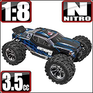 Redcat Racing Earthquake 3.5 1/8 Scale Nitro RC Monster Truck NEW Christmas