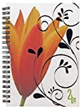 2Be Personal Notebook, Poly Cover, Double Pocket, 7 x 5 Inches, College Rule, 100 Sheets, Assorted Colors (43076) Reviews