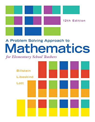 Problem Solving Approach to Mathematics for Elementary School Teachers, A, Plus MyMathLab — Access Card Package (12th Edition)