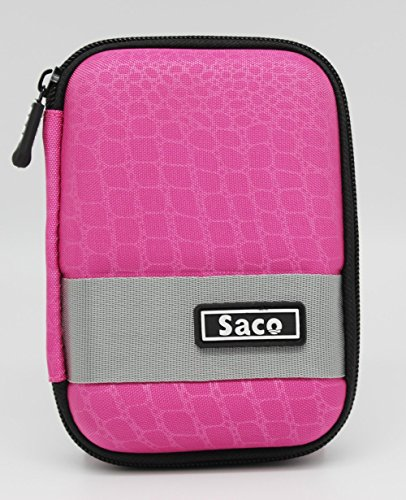 Saco External Hardisk Hard Case For Seagate Expansion 500GB Portable External Hard Drive - Pink - B016OSQPEG