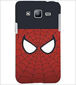 PrintDhaba SpiderMask D-4478 Back Case Cover for SAMSUNG GALAXY J2 (Multi-Coloured)