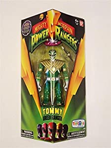 Mighty Morphin Power Rangers, Exclusive Action Figure, Tommy Green Ranger, 5 Inches