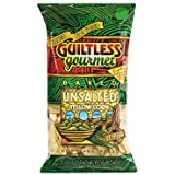 Guiltless Gourmet Unsalted Yellow Corn Tortilla Chips -- 7 oz