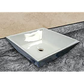 New Stylish Design Bathroom Porcelain Ceramic Vessel Sink