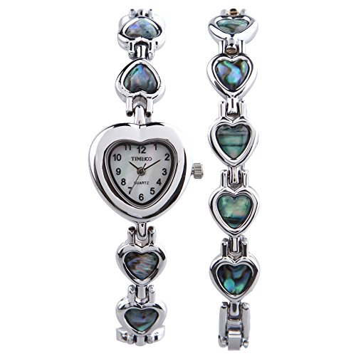 time100-damen-armkette-kostenlos-kettenarmband-armbanduhr-shell-herz-form-analog-quarz-w50131l01a