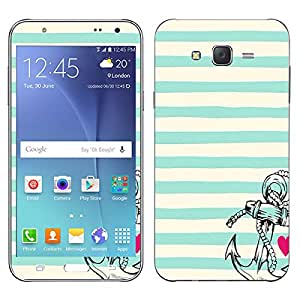 Theskinmantra Hearty Anchor SKIN for Samsung Galaxy J7