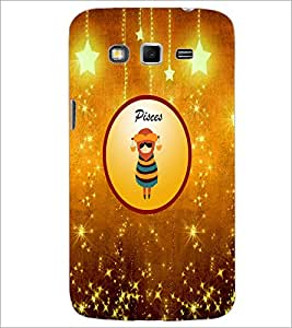 PrintDhaba Zodiac Pisces D-3698 Back Case Cover for SAMSUNG GALAXY GRAND 2 (Multi-Coloured)