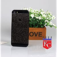 KC IPhone 5/5s/SE - Shiny Crystal Bling Glitter Thin Hard Back Cover For IPhone 5, IPhone 5s & IPhone SE - Black