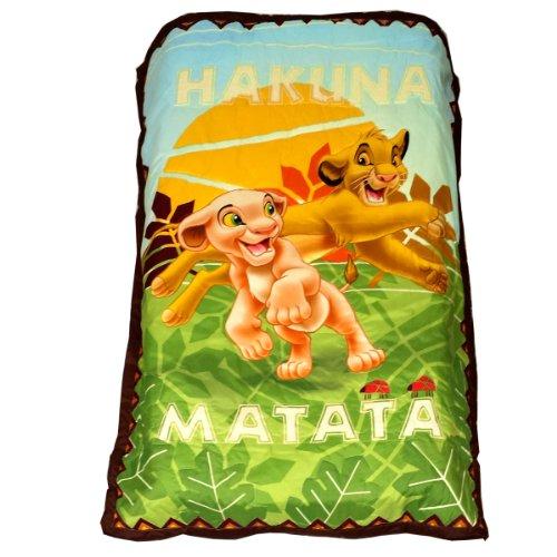 Disney Lion King 4 Piece Toddler Bedding Set New Free