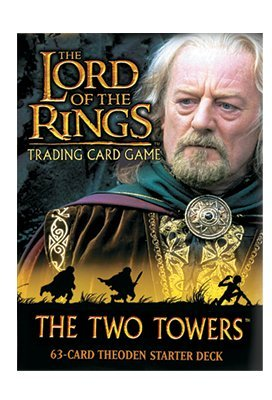 Lord of the Rings Card Game Theme Starter Deck Two Towers Theoden