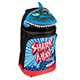 Raskullz Shark Attax Luggage, Black