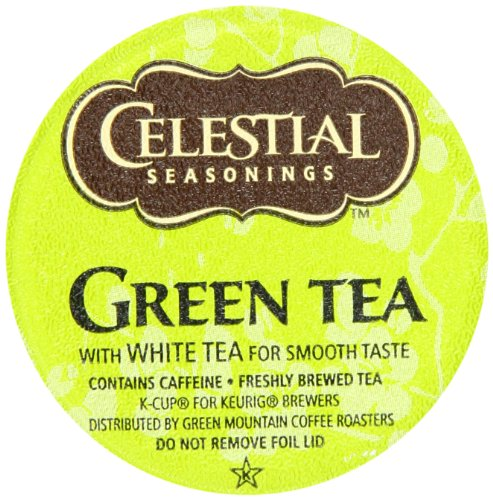 Celestial Seasonings Teas & Herbal Teas 74-14734 Green Tea K-cups, 24-Count