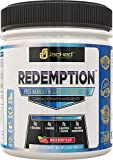 REDEMPTION Post-Workout Recovery & Muscle Growth Fuel - 100% Naturally Sweetened & Flavored - Cutting Edge Ingredients to Stimulate Muscle Growth, Increase Strength & Power, Enhance Recovery - Mixed Berry Blast, 443.6 Grams
