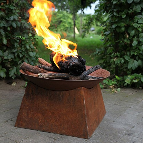 Esschert-Design-Rust-Wood-Burning-Fire-Bowl