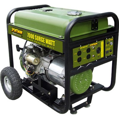 Buffalo Tools Sportsman Series 6,000W Portable Generator with Electric Start