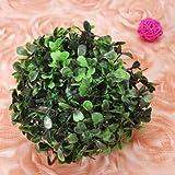 Plastic Artificial Topiary Ball Tree Decoration Plant (18cm)