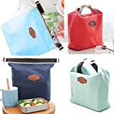 Tote Portable Thermal Cooler Insulated Pouch Waterproof Food Storage Bag Lunch Carry Bags Pouch