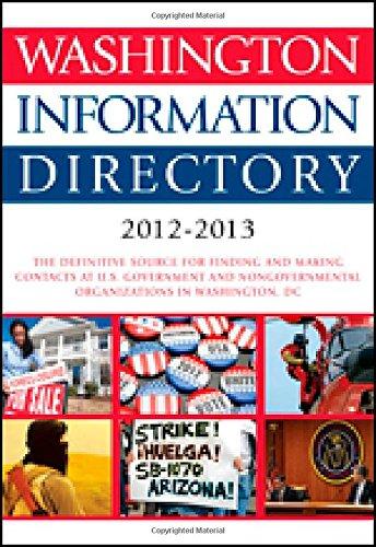 Washington Information Directory 2012-2013
